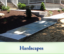 Landscapes and Hardscapes in CT